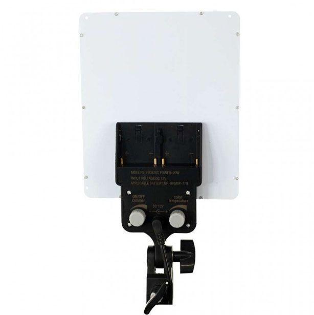 Kit Iluminador Led Panel LD520C 2x 20W 144Leds com Tripé LS260  - Diafilme Materiais Fotográficos