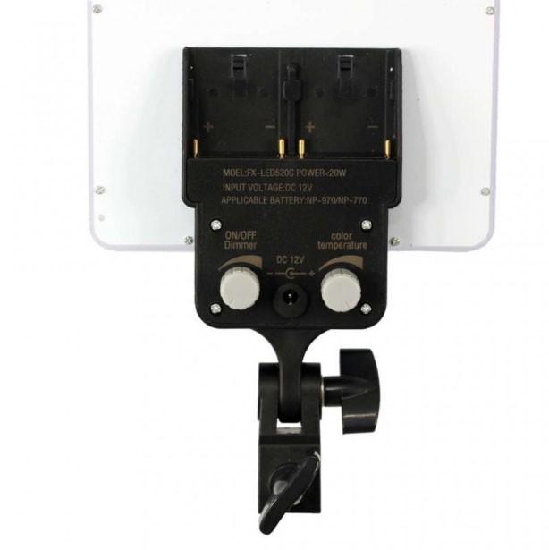 Iluminador Led Panel LD530C 30W 288Leds com Tripé LS260  - Diafilme Materiais Fotográficos