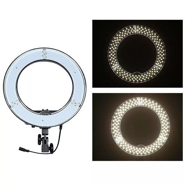 Iluminador Ring Light Led - 48cm Com Difusor  - Diafilme Materiais Fotográficos