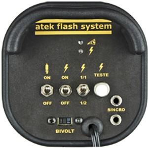 Kit Flash Estudio Atek Compact 2x250W com Tripé e Softbox 60x90cm  - Diafilme Materiais Fotográficos