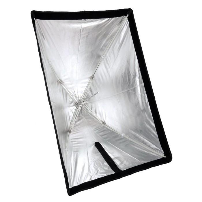 Kit Flash Estudio Atek Compact 2x350W com Tripé e Softbox 60x90cm  - Diafilme Materiais Fotográficos