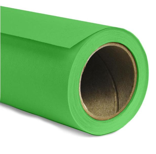 Kit Fundo Infinito Fotográfico de Papel Verde Chroma Key 2,70x11m com Suporte Fixo  - Diafilme Materiais Fotográficos