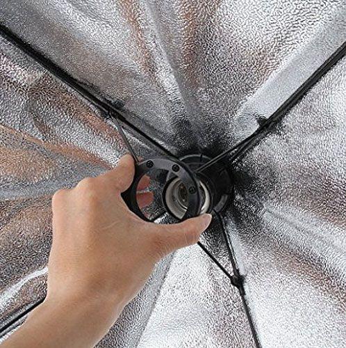 Kit Iluminação Estúdio 02 Softbox E27 40x60 com Tripé  - Diafilme Materiais Fotográficos