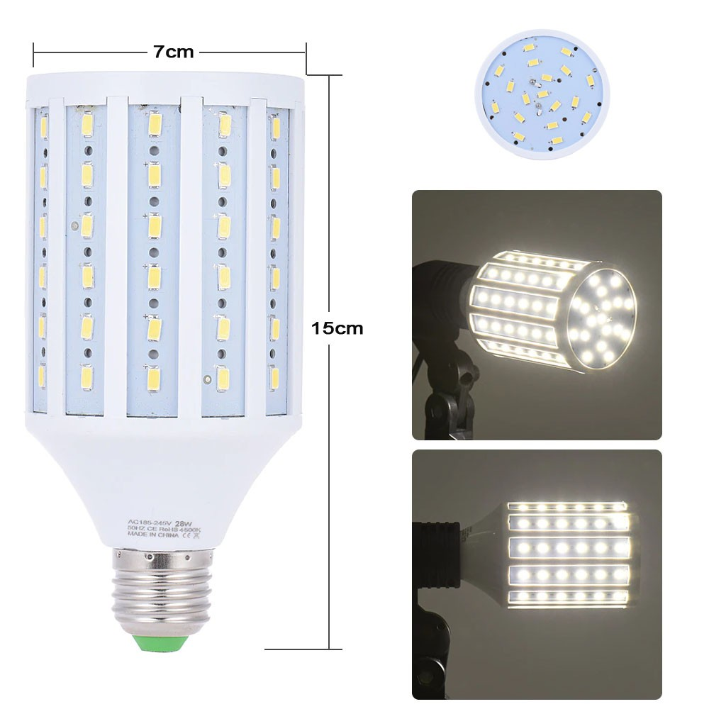 Kit Iluminação Estúdio LED 8x28W Softbox Quad ES470 50x70 Tripé Bag  - Diafilme Materiais Fotográficos