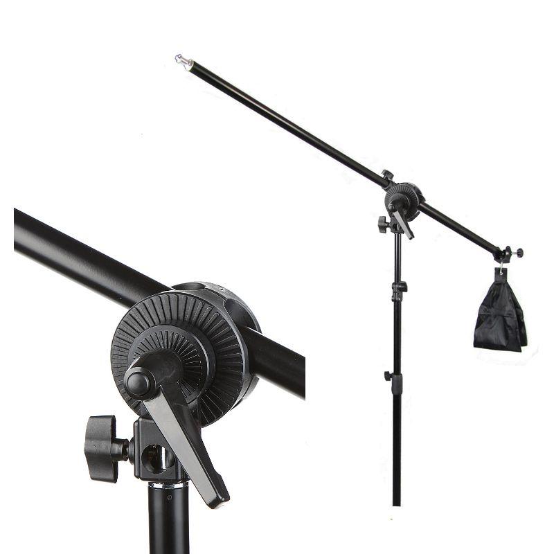 Kit Iluminação Estúdio Softbox E27 Octo 70cm com Girafa  - Diafilme Materiais Fotográficos