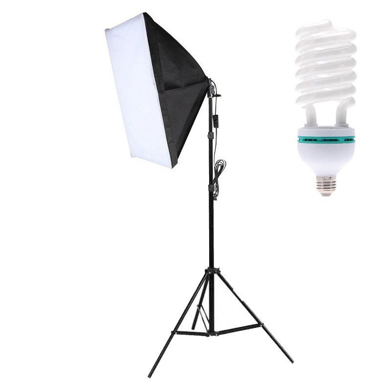 Kit Iluminação Estúdio - Softbox Light 50x70 85W - SA5070  - Diafilme Materiais Fotográficos