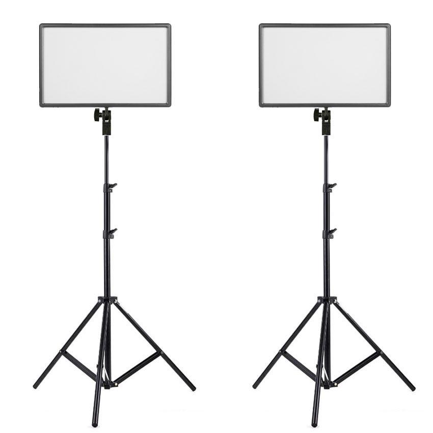 Kit Iluminador Foto e Vídeo Led Panel LD620C 25W com Tripé LS200  - Diafilme Materiais Fotográficos