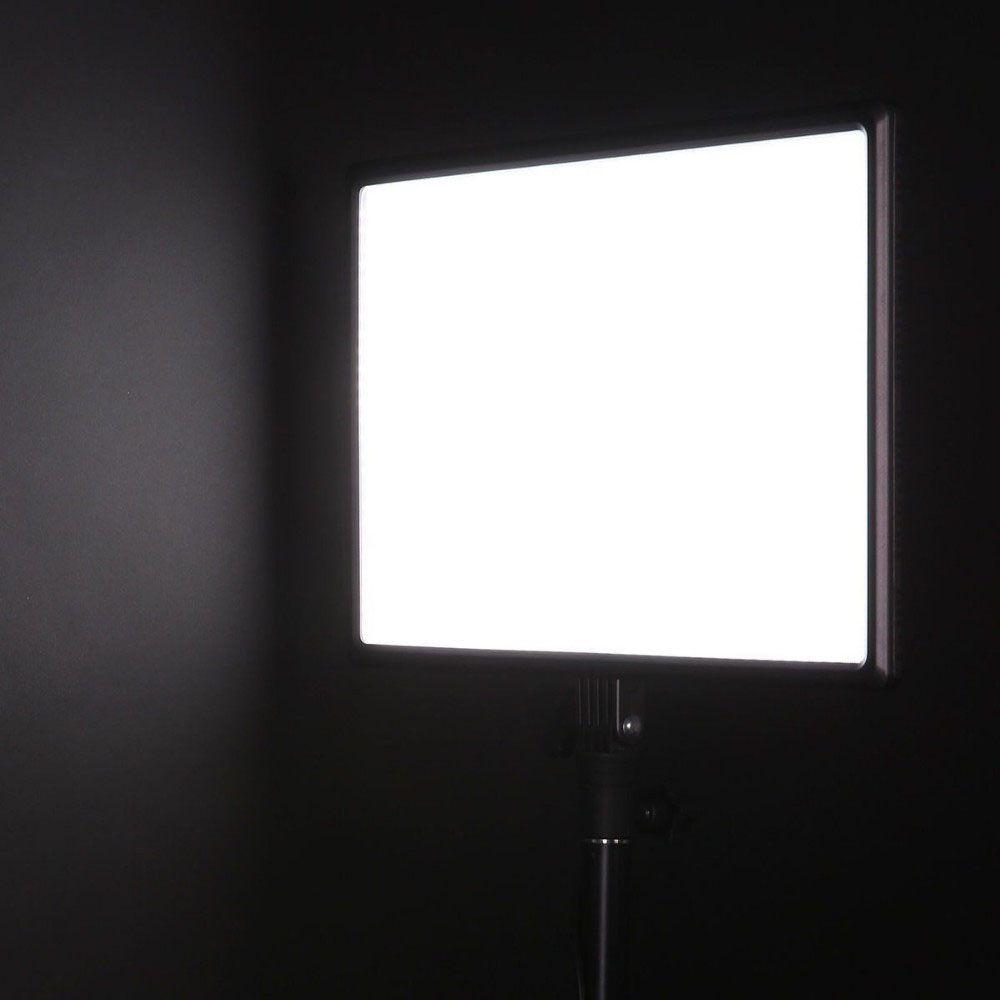 Kit Iluminador Foto e Vídeo Led Panel LD620C 25W Tripé LS200 e Bolsa  - Diafilme Materiais Fotográficos