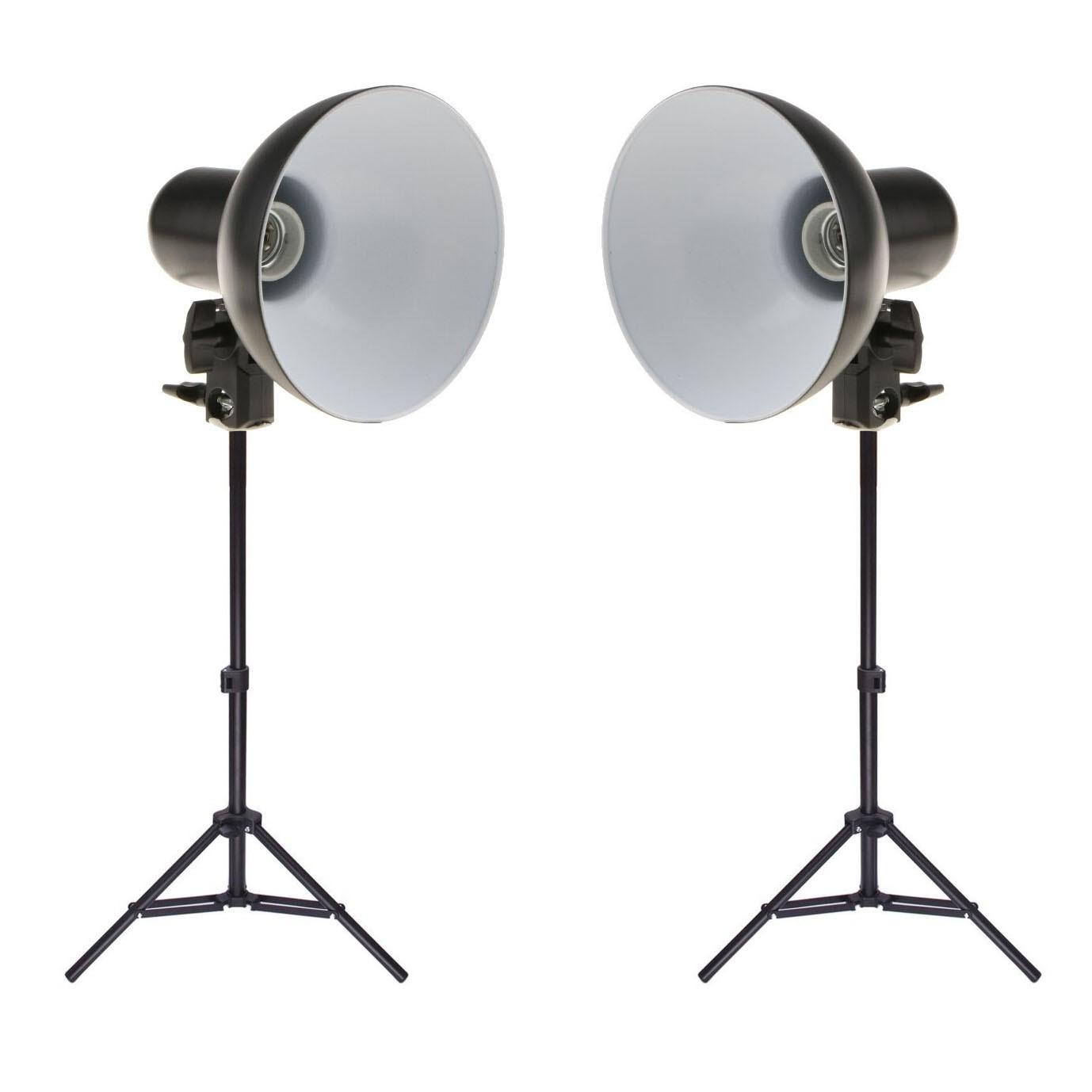Kit Iluminador Foto e Vídeo Refletor 2x FV414 com Tripé 75cm  - Diafilme Materiais Fotográficos