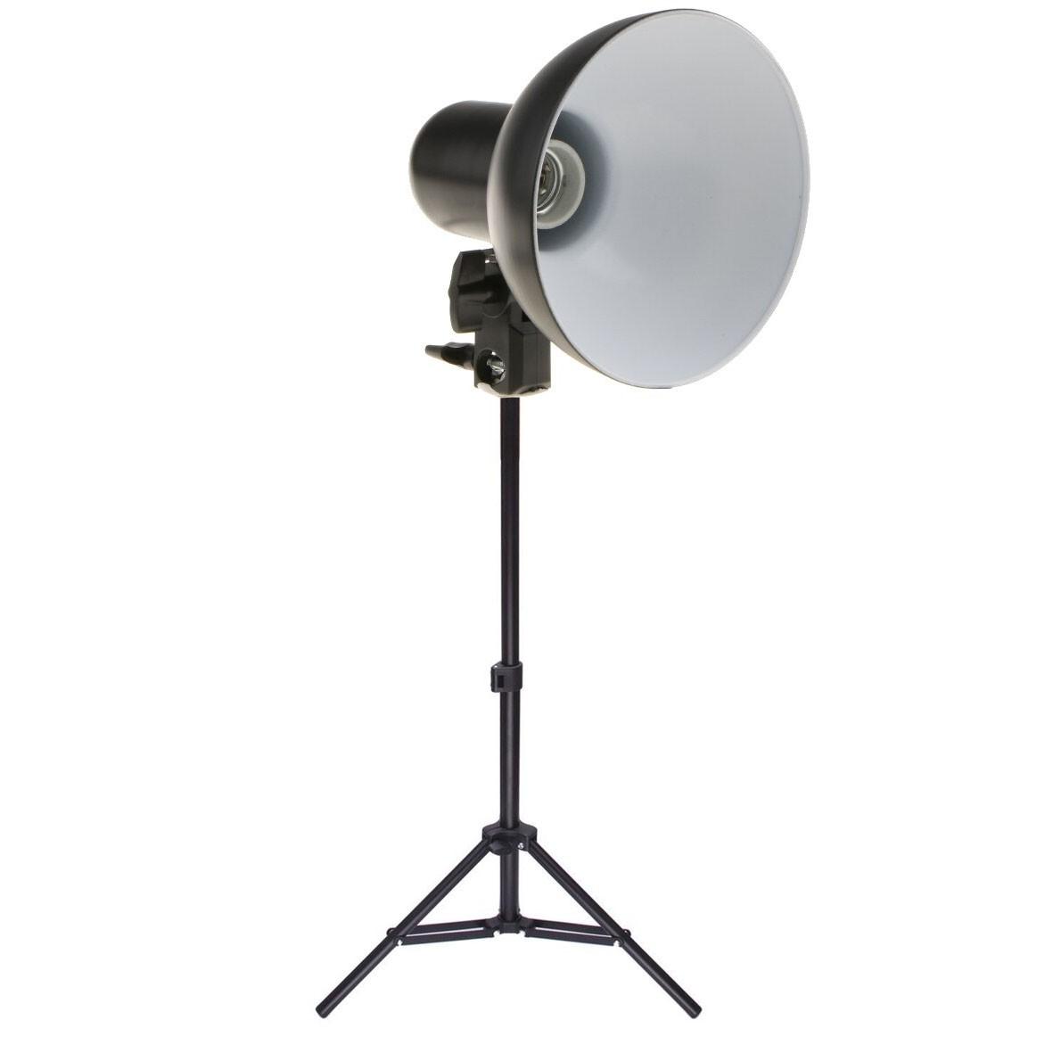 Kit Iluminador Foto e Vídeo Refletor FV414 com Tripé 75cm  - Diafilme Materiais Fotográficos