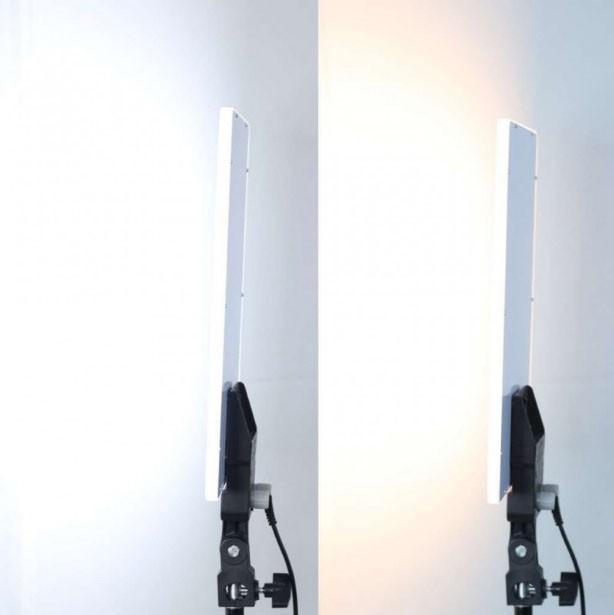Kit Iluminador Led Panel LD530C 2x 30W 288Leds com Tripé LS200 e Bolsa  - Diafilme Materiais Fotográficos
