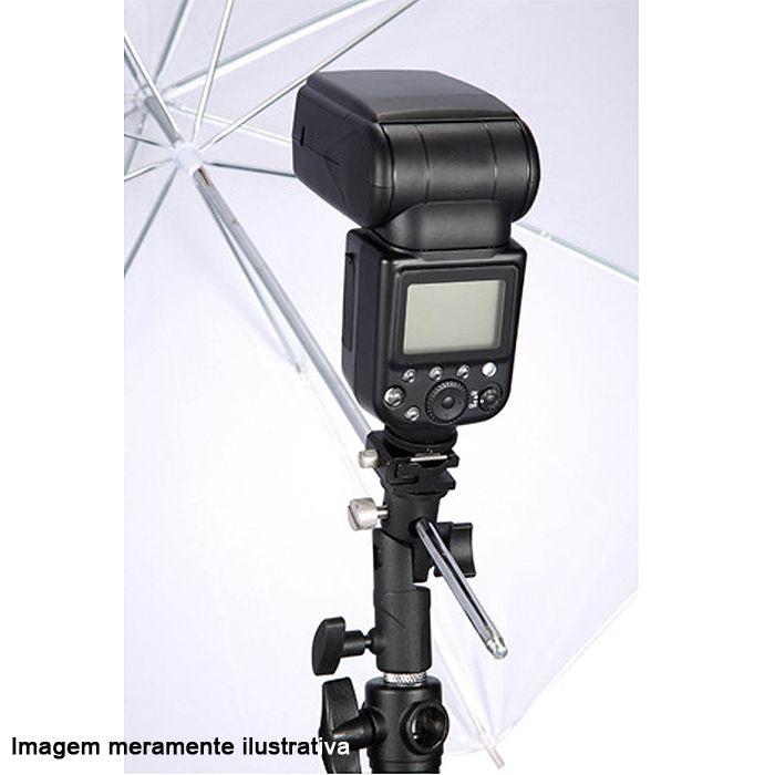 Kit Flash Speedlight - Tripe  Sombrinha Dourada Suporte 1033C  - Diafilme Materiais Fotográficos