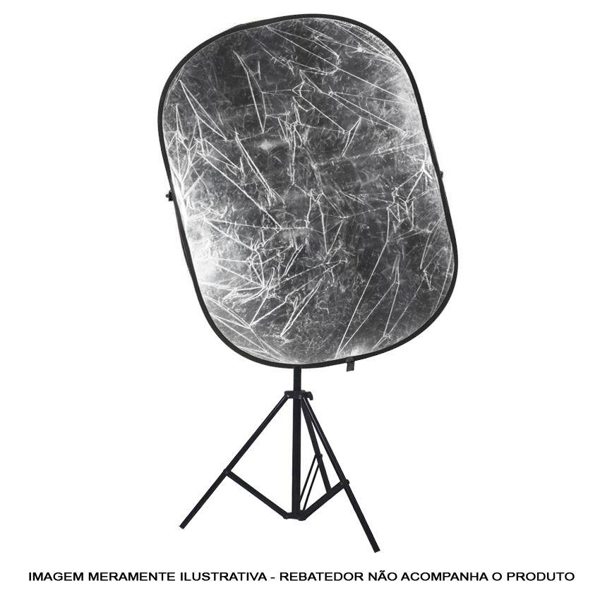Kit Suporte Rebatedor Difusor - Haste LRH01 e Tripé  - Diafilme Materiais Fotográficos