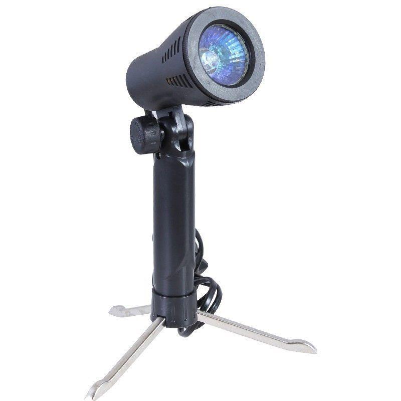 Kit Tenda Difusora Portátil 50CM + Iluminador 2X50W 110V  - Diafilme Materiais Fotográficos