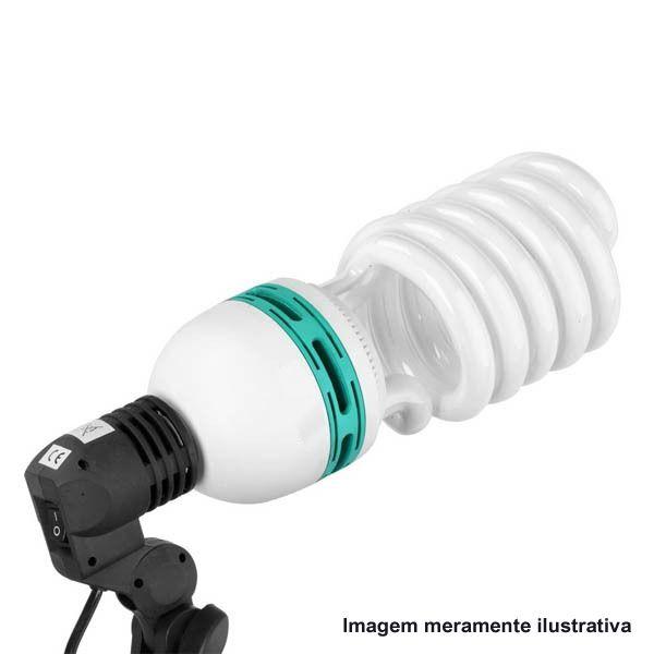 Lâmpada Fluorescente Estúdio Fotográfico - 135W  - Diafilme Materiais Fotográficos