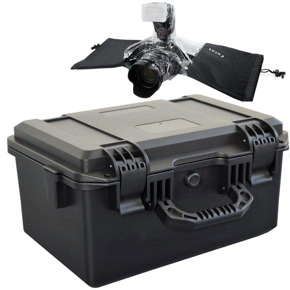 Mala Rigida - CaseONE YF2133 Foam com Capa de Chuva DSLR  - Diafilme Materiais Fotográficos