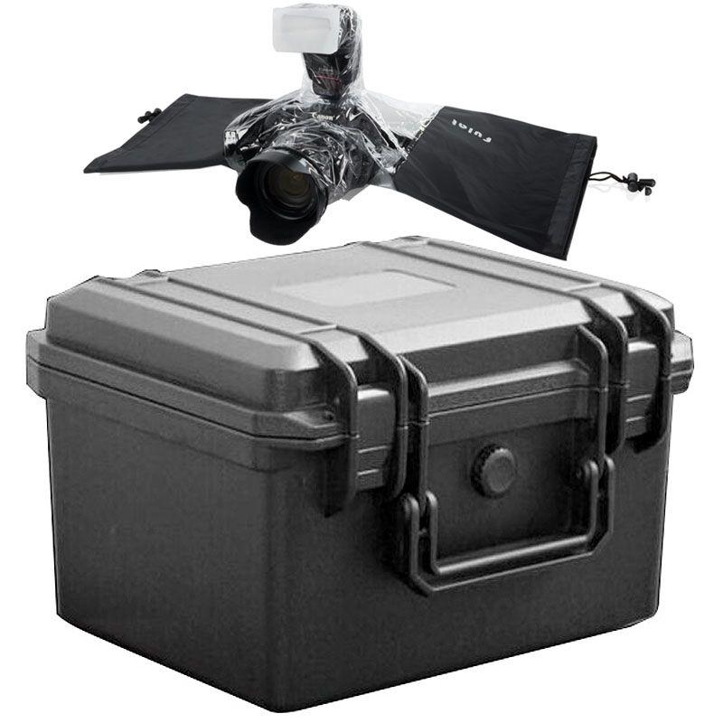 Mala Rigida - CaseONE YF2519 Foam com Capa de Chuva DSLR  - Diafilme Materiais Fotográficos