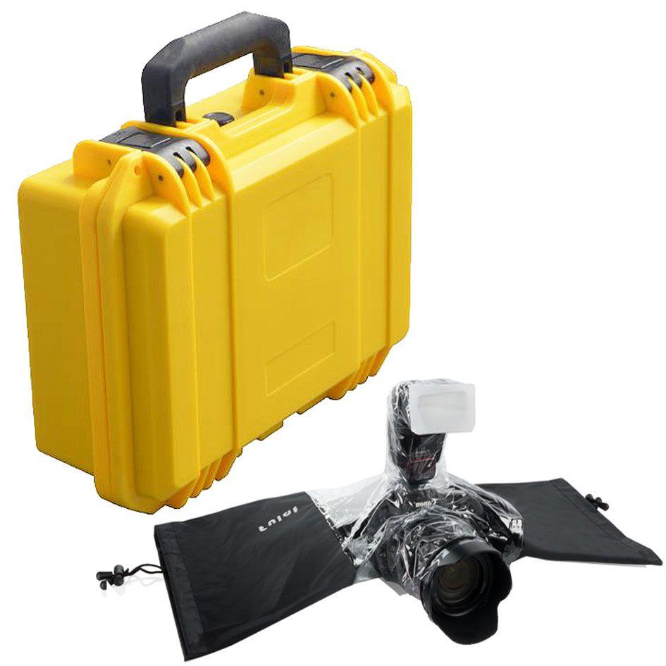 Mala Rigida - CaseONE YF3020Y Foam com Capa de Chuva DSLR  - Diafilme Materiais Fotográficos