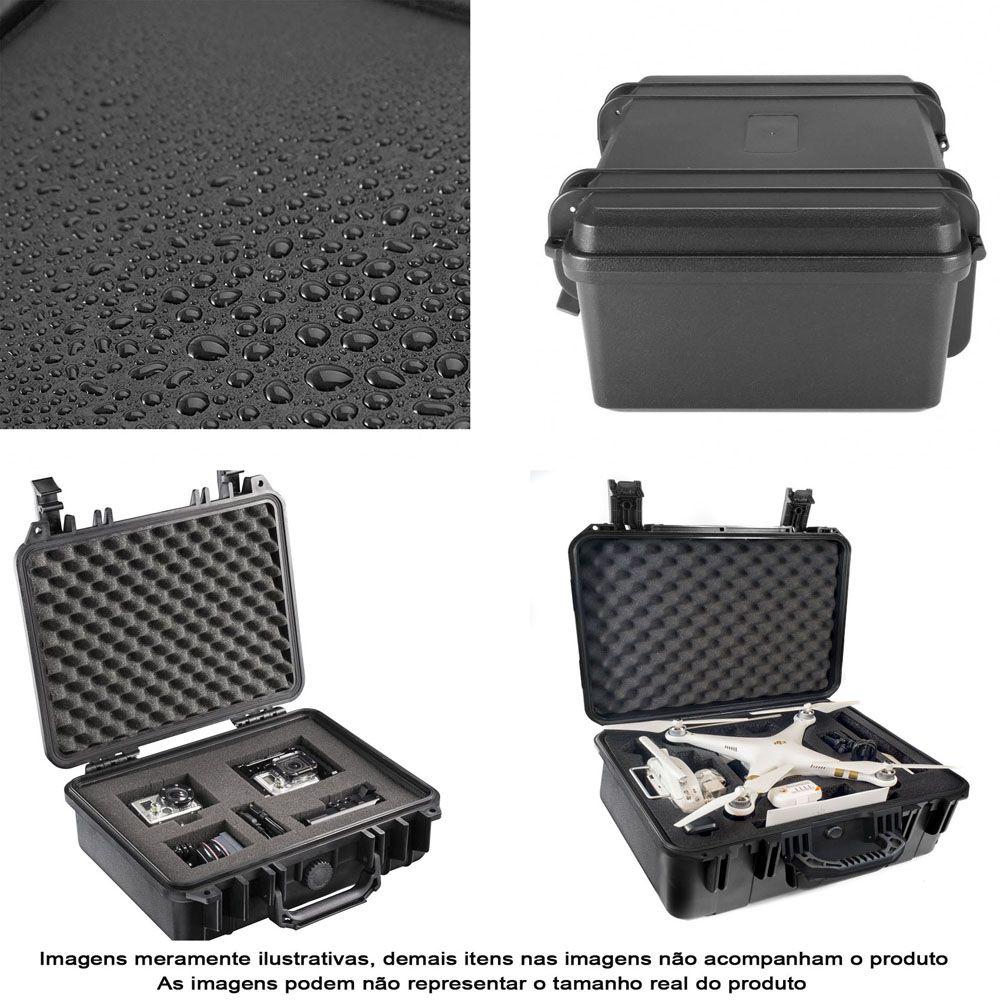 Mala Rigida DSLR - CaseONE YF2133 Foam com Kit de Limpeza EC01  - Diafilme Materiais Fotográficos