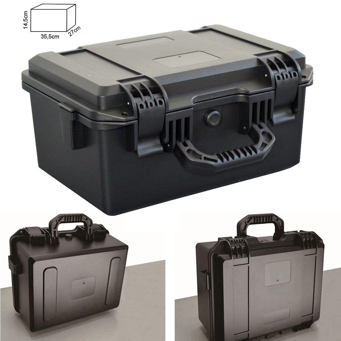 Mala Rigida DSLR - CaseONE YF2133L Foam com Kit de Limpeza EC05  - Diafilme Materiais Fotográficos