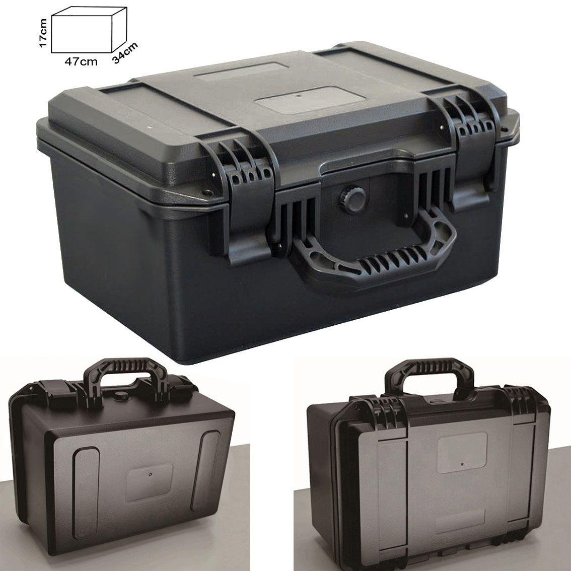 Mala Rigida DSLR - CaseONE YF2944H Foam com Kit de Limpeza EC05  - Diafilme Materiais Fotográficos