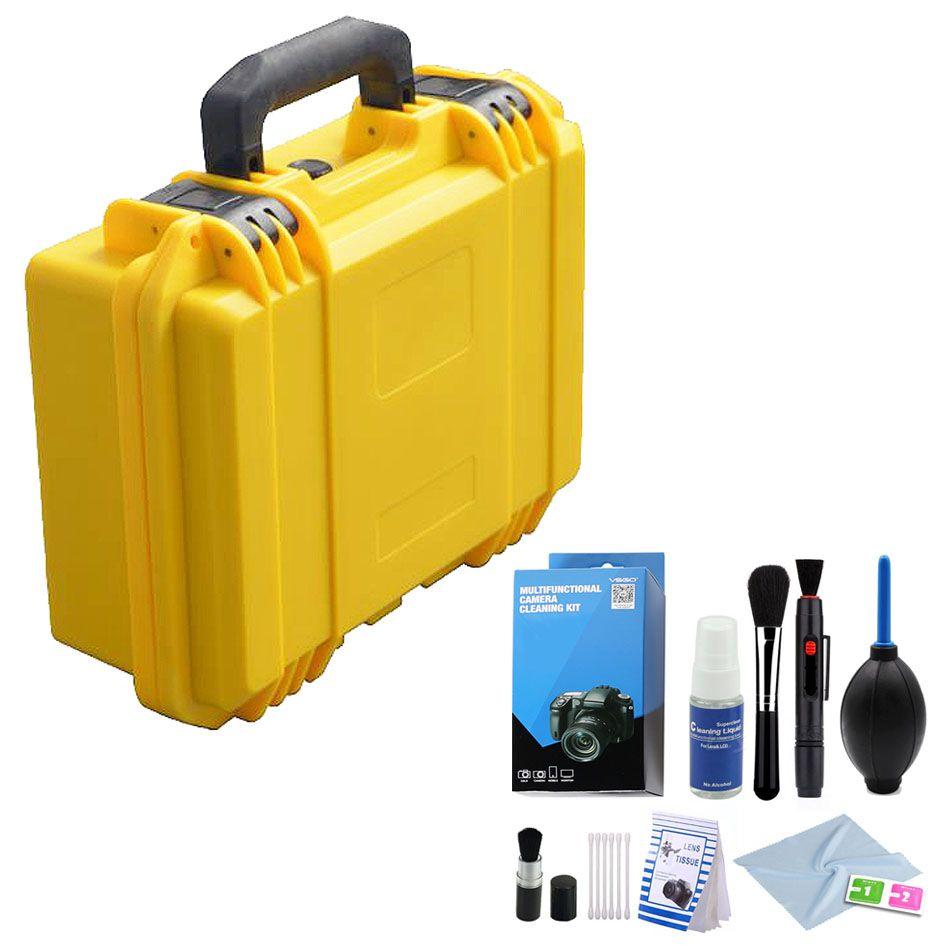 Mala Rigida DSLR - CaseONE YF3020Y Foam com Kit de Limpeza EC01  - Diafilme Materiais Fotográficos