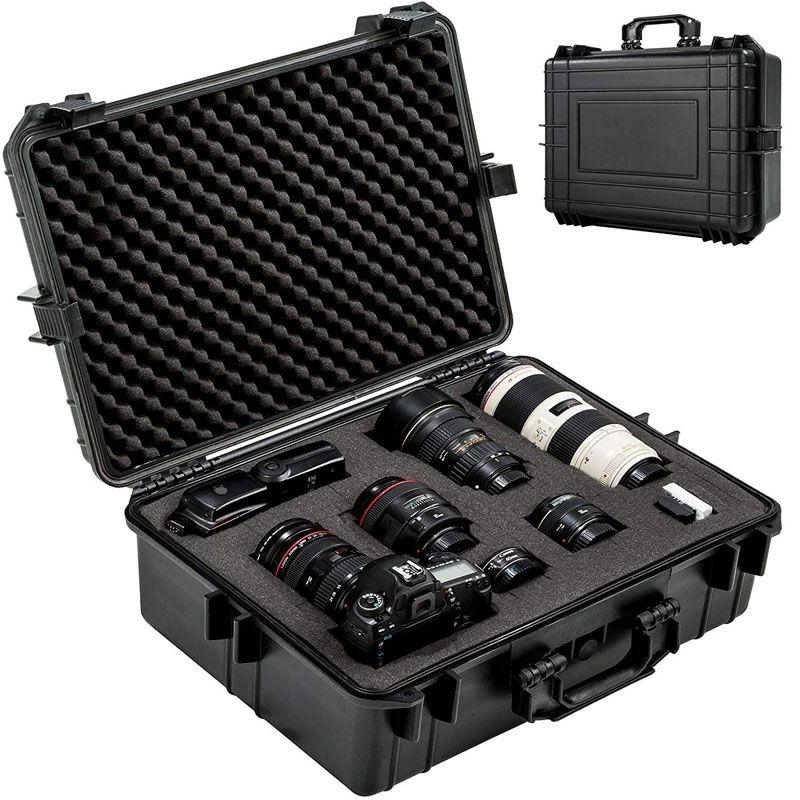 Mala Rigida DSLR - CaseONE YF4636H Foam com Kit de Limpeza EC01  - Diafilme Materiais Fotográficos