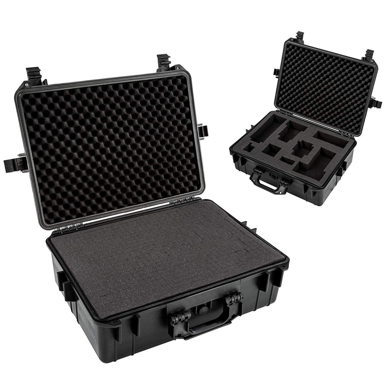 Mala Rigida DSLR - CaseONE YF4636H Foam com Kit de Limpeza EC05  - Diafilme Materiais Fotográficos