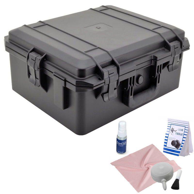 Mala Rigida DSLR - CaseONE YF5040B Foam com Kit de Limpeza EC05  - Diafilme Materiais Fotográficos