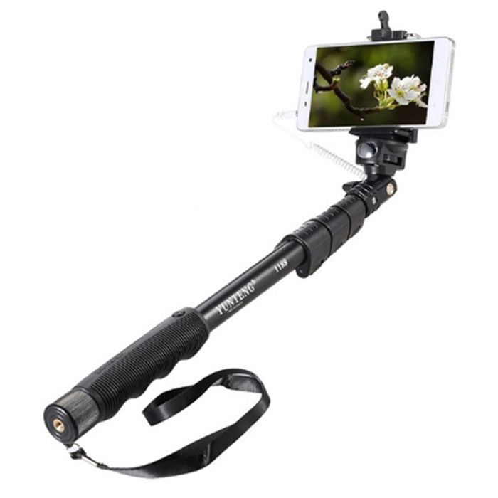 Manopla Extensora Self Stick - Yunteng YT1188 - 125cm  - Diafilme Materiais Fotográficos