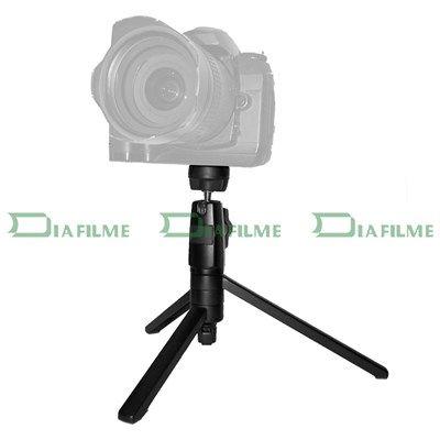 Mini Tripé de Mesa Dobrável para DSLR - FT-0112 - 18,5cm  - Diafilme Materiais Fotográficos
