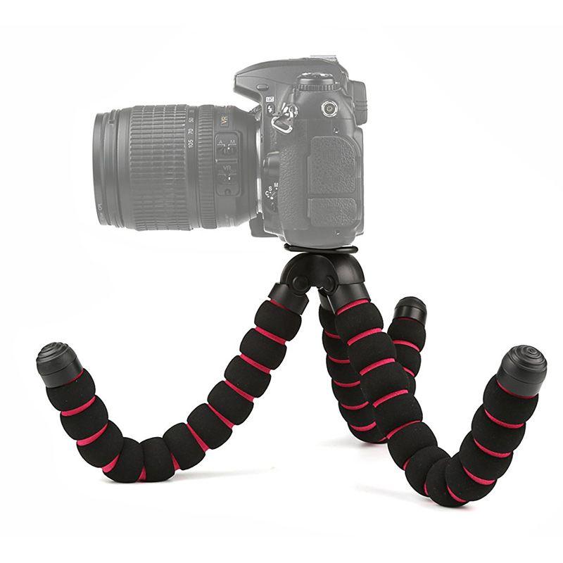 Mini Tripé de Mesa Flexível - TM04 - 28cm  - Diafilme Materiais Fotográficos