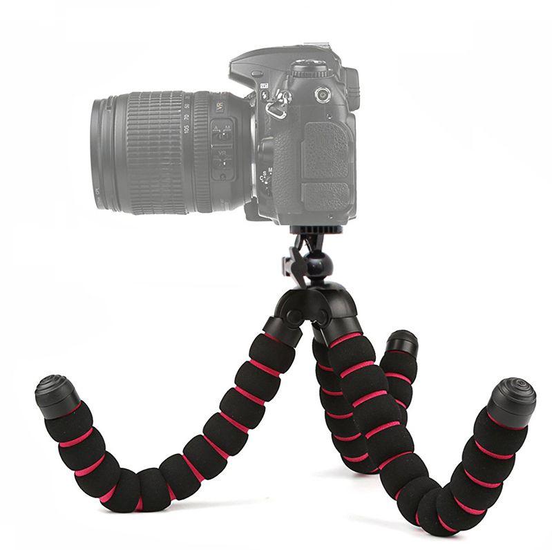 Mini Tripé de Mesa Flexível - TM05 - 25,5cm  - Diafilme Materiais Fotográficos