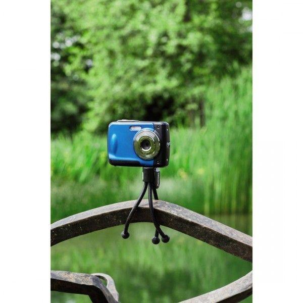 Mini Tripé de Mesa Flexível - TR-01 - 12cm  - Diafilme Materiais Fotográficos
