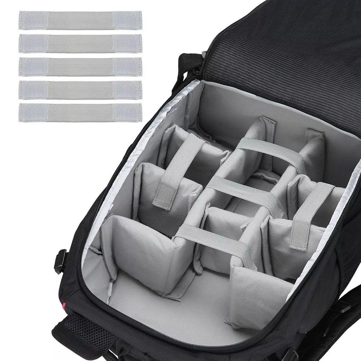 Mochila Câmera DSLR Filmadora Tablet - Ortex K7 - C35xP22xA50cm  - Diafilme Materiais Fotográficos
