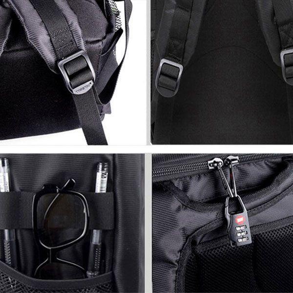 Mochila Câmera DSLR Filmadora - Tigernu TC6003 - C26xP13xA34cm  - Diafilme Materiais Fotográficos