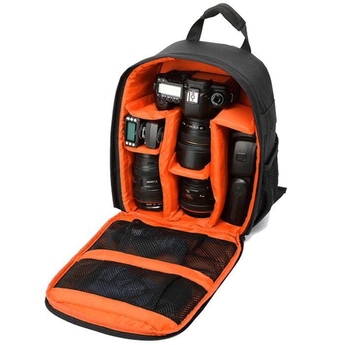 Mochila Câmera DSLR Filmadora - Tigernu TC6007 - C26xP14xA35cm  - Diafilme Materiais Fotográficos