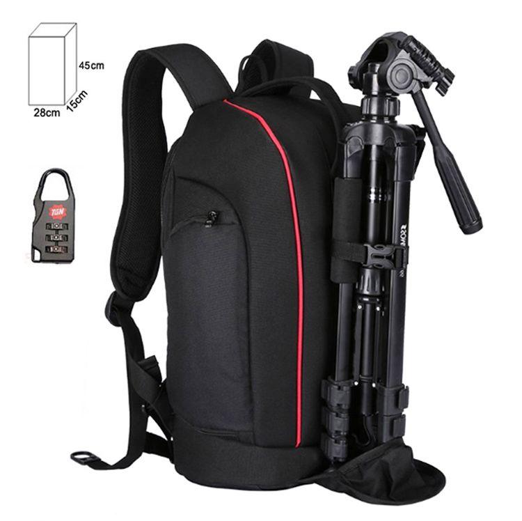 Mochila Câmera DSLR Filmadora - Tigernu TX6006 - C28xP15xA45cm  - Diafilme Materiais Fotográficos