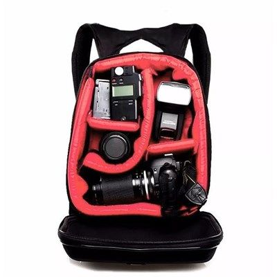 Mochila Câmera DSLR Filmadora - WEST JULIA - C29xP15xA39cm  - Diafilme Materiais Fotográficos