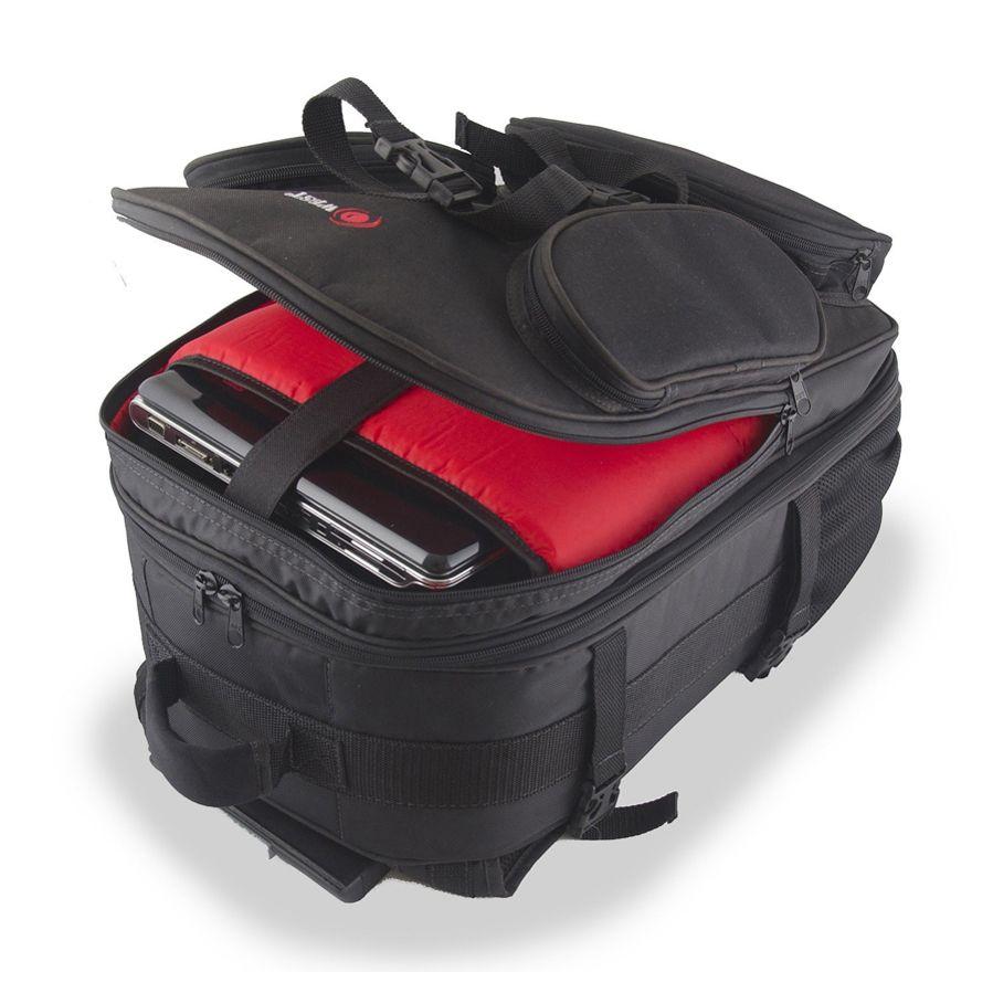 Mochila Câmera DSLR Filmadora - WEST NEW CAR - C37xP22xA57cm   - Diafilme Materiais Fotográficos
