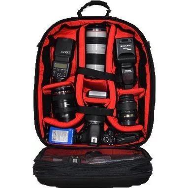 Mochila Câmera DSLR Filmadora - WEST VMB - C38xP18xA49cm  - Diafilme Materiais Fotográficos