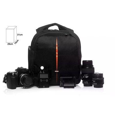 Mochila para Câmera DSLR ou Filmadora - WEST VMBII - C29xP15xA31cm  - Diafilme Materiais Fotográficos