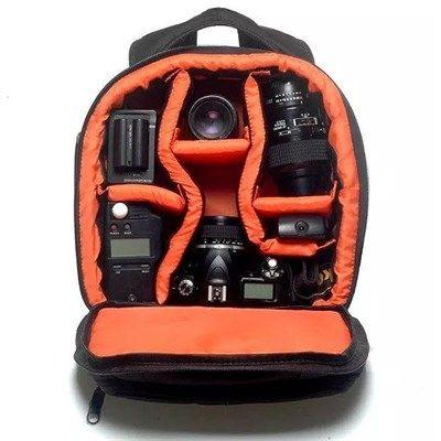 Mochila Câmera DSLR Filmadora - WEST VMBII - C29xP15xA31cm  - Diafilme Materiais Fotográficos