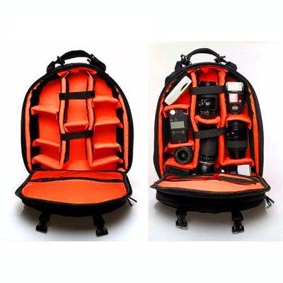 Mochila Câmera DSLR Filmadora - WEST VMBIII - C32xP22xA42cm  - Diafilme Materiais Fotográficos