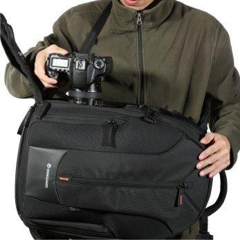 Mochila Câmera DSLR Vanguard UpRise 46 - C29,0xL25xA45cm  - Diafilme Materiais Fotográficos
