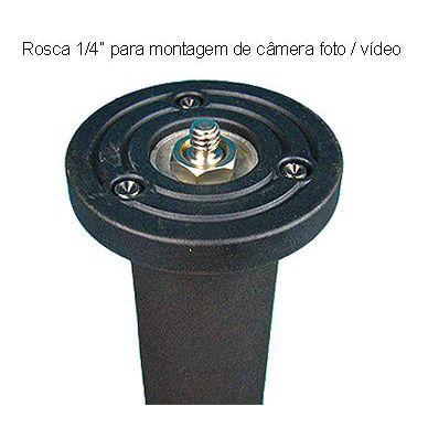 Monopé Câmera DSLR e Vídeo - FotoBestway FTS 3502 - 1,83m  - Diafilme Materiais Fotográficos