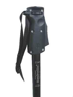 Monopé Câmera DSLR e Vídeo - Manfrotto 334B - 1,66m  - Diafilme Materiais Fotográficos