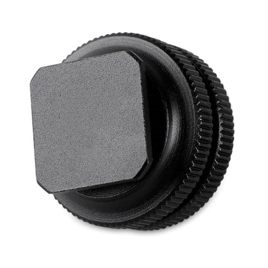 """Parafuso Adaptador para Sapata Canon Nikon - rosca 1/4"""" Macho  - Diafilme Materiais Fotográficos"""