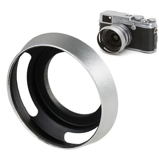 Parassol de Metal Universal para Objetivas DSLR - 52mm  - Diafilme Materiais Fotográficos