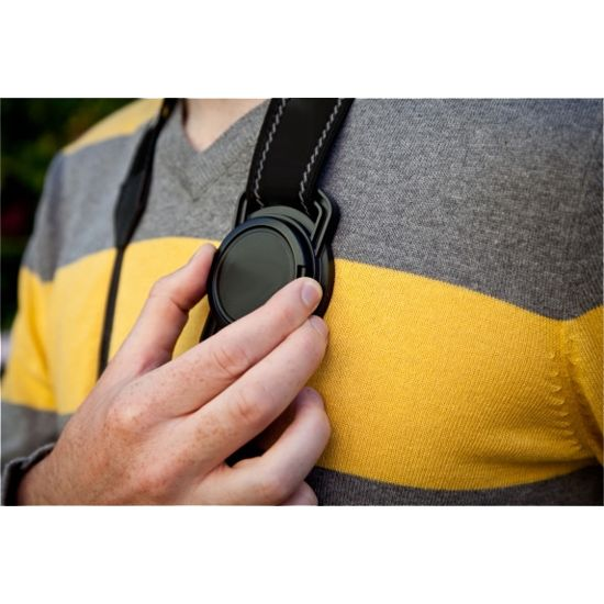Porta tampa de protecao de lentes e objetivas - 72mm  - Diafilme Materiais Fotográficos